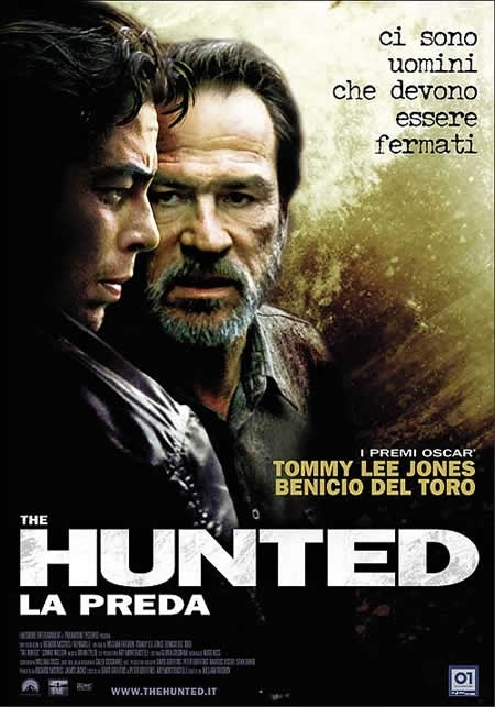 La locandina di The hunted - La preda
