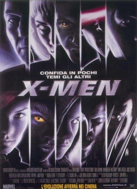 La locandina di X-Men