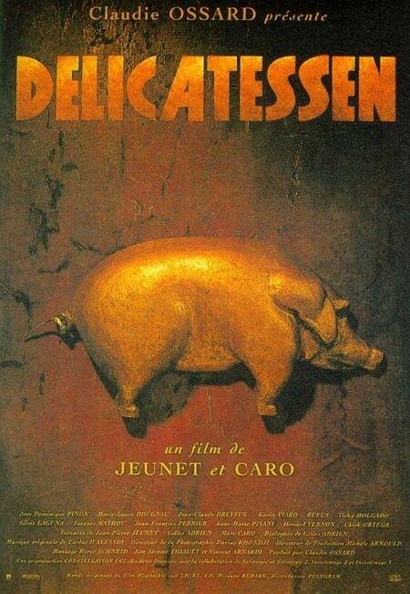 La locandina di Delicatessen