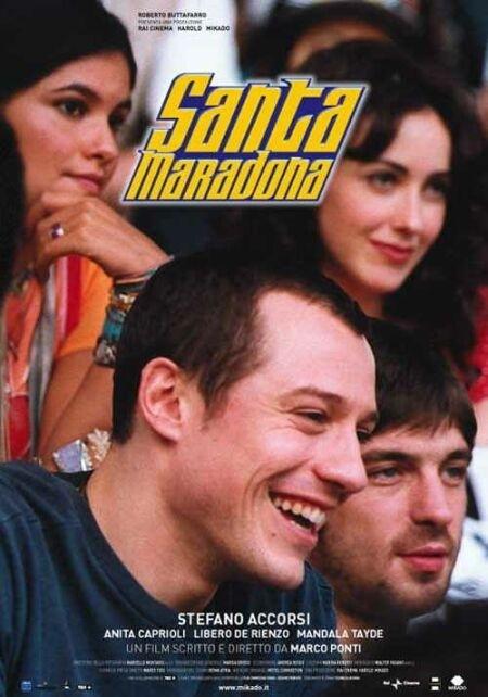 La locandina di Santa Maradona