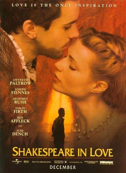 La locandina di Shakespeare in Love