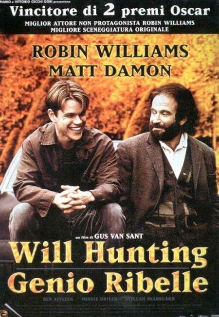La locandina di Will Hunting - Genio ribelle