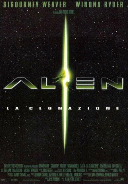La locandina di Alien: La clonazione