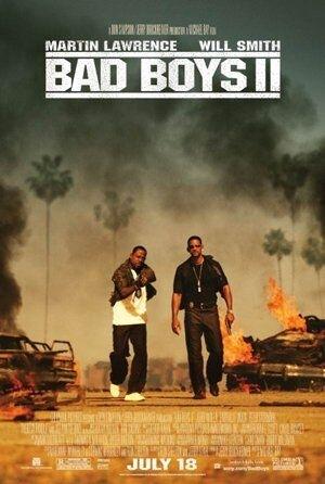 La locandina di Bad Boys 2
