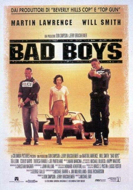 La locandina di Bad Boys