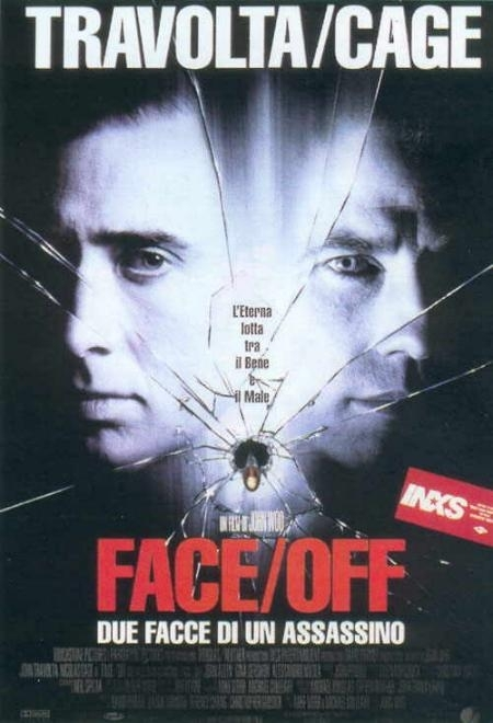 La locandina di Face/Off - Due facce di un assassino