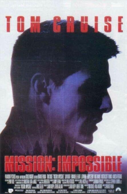 La locandina di Mission: Impossible
