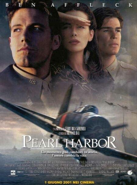La locandina di Pearl Harbor