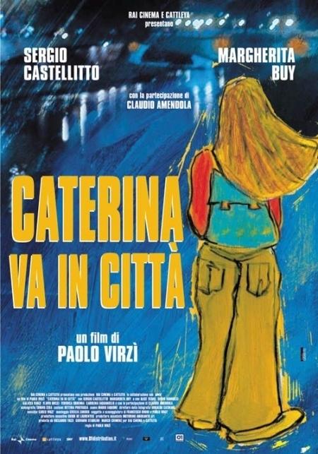 La locandina di Caterina va in città