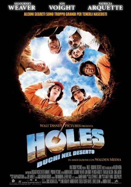La locandina di Holes - Buchi nel deserto