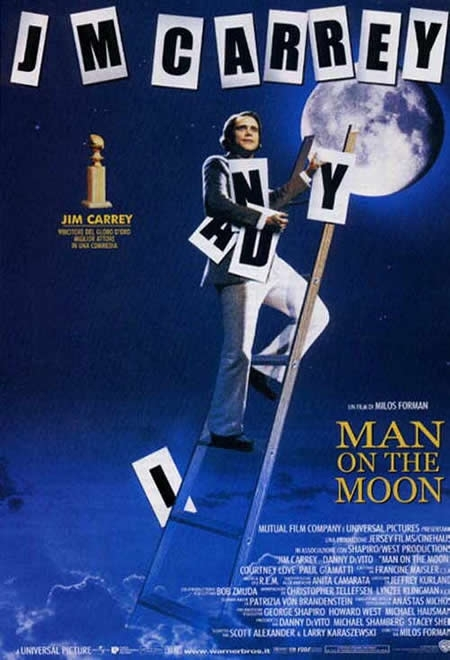 La locandina di Man on the moon
