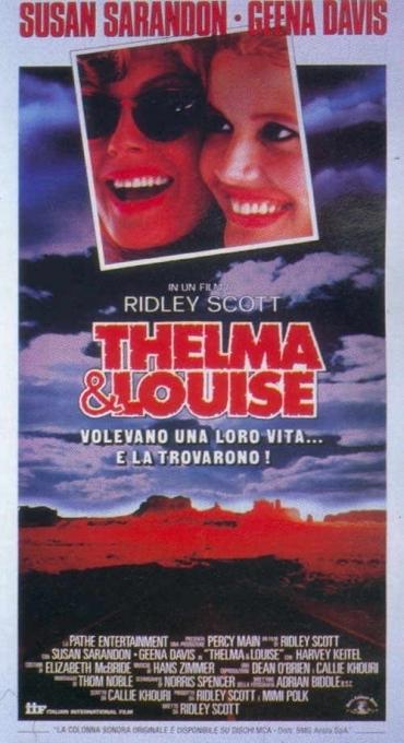 La locandina di Thelma & Louise