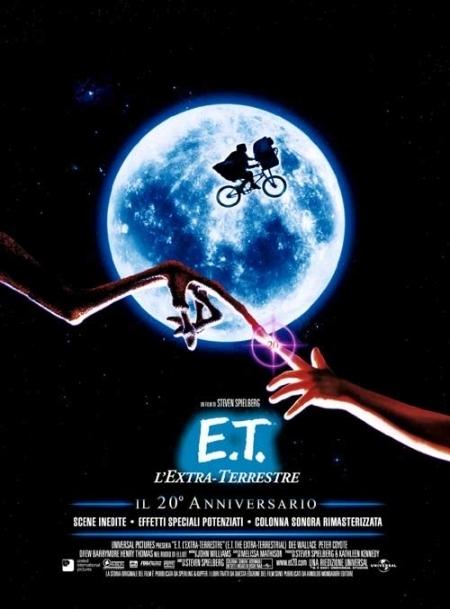 La locandina di E.T. L'Extraterrestre - 20° anniversario