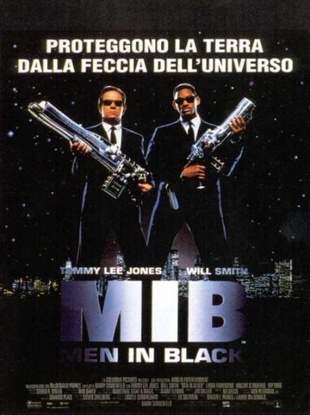 La locandina di Men in Black