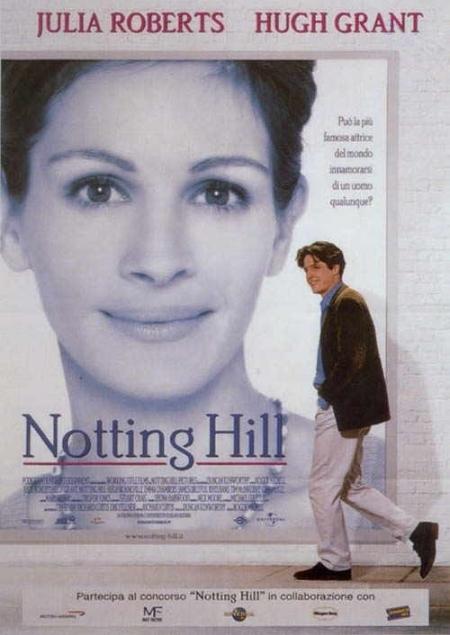 La locandina di Notting Hill