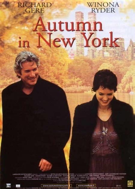 La locandina di Autumn in New York