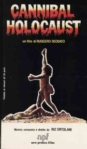 La locandina di Cannibal Holocaust