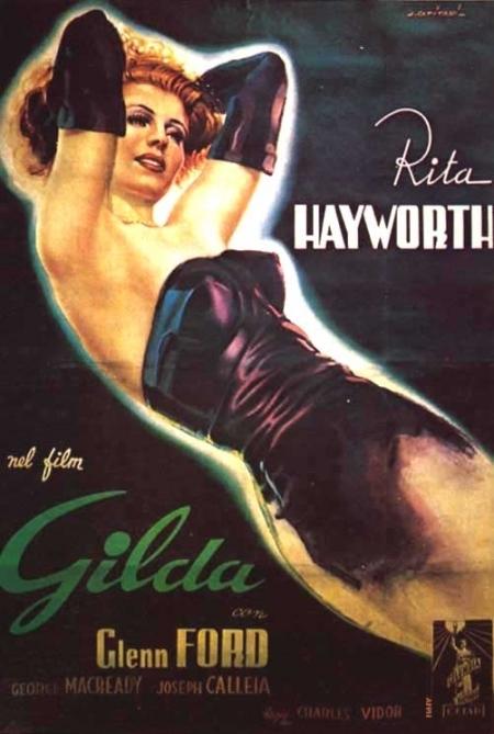 La locandina di Gilda