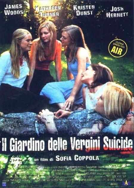 La locandina di Il giardino delle vergini suicide