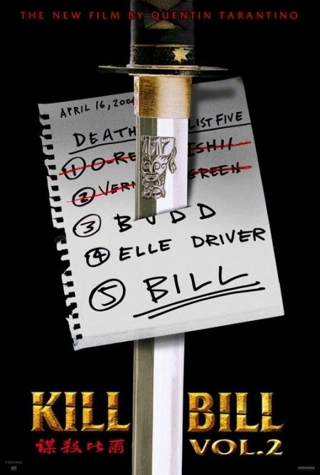 La locandina di Kill Bill: Volume 2