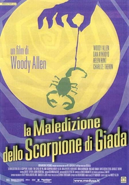 La locandina di La maledizione dello scorpione di giada