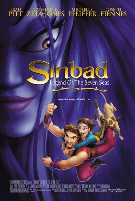 La locandina di Sinbad: la leggenda dei sette mari