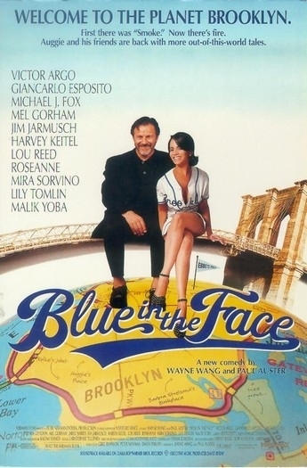 La locandina di Blue in the Face