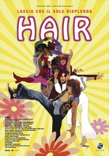 La locandina di Hair