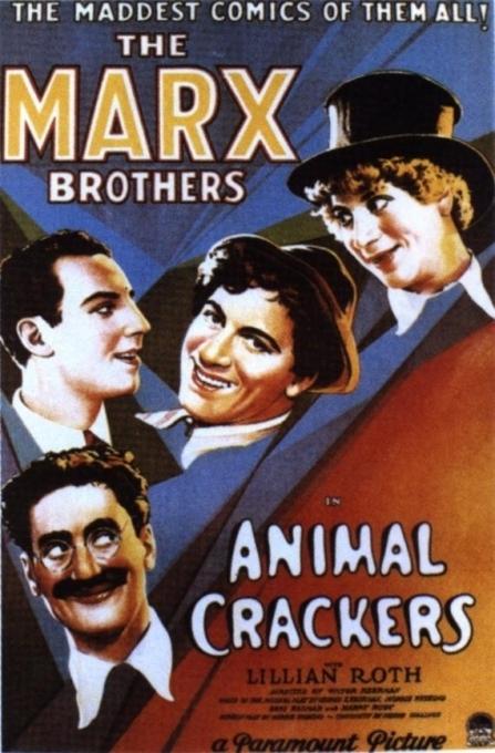 La locandina di Animal Crackers