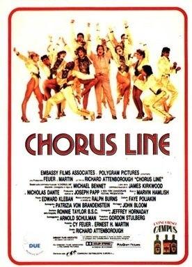 La locandina di Chorus Line