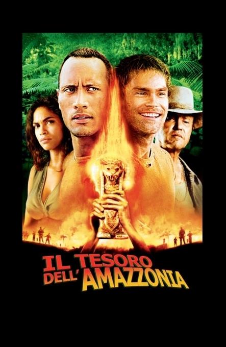 La locandina di Il tesoro dell'Amazzonia
