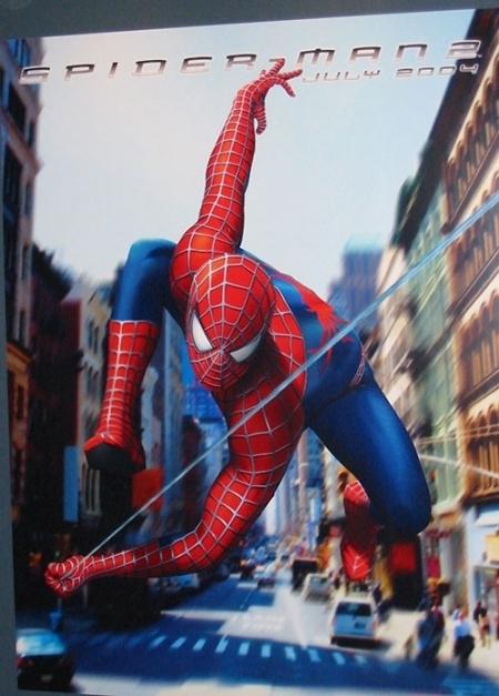 La locandina di Spider-Man 2
