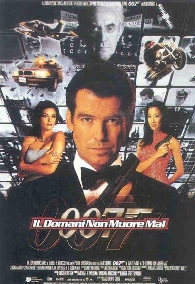 La locandina di 007 - Il domani non muore mai