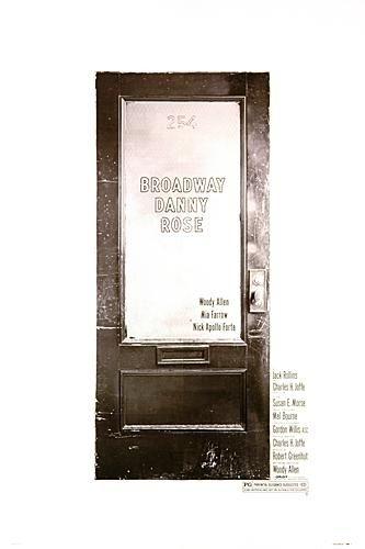 La locandina di Broadway Danny Rose