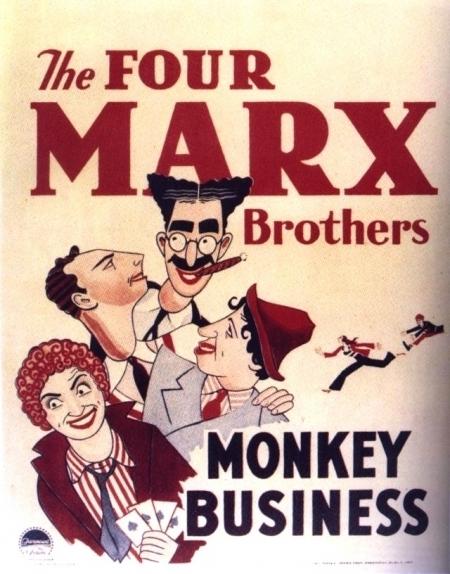 La locandina di Monkey business - quattro folli in alto mare