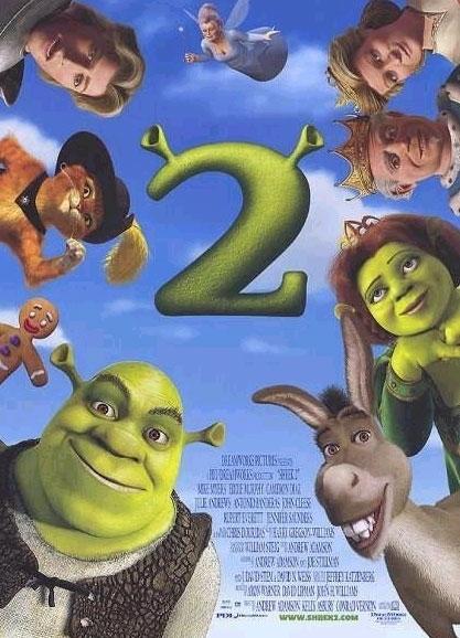 La locandina di Shrek 2