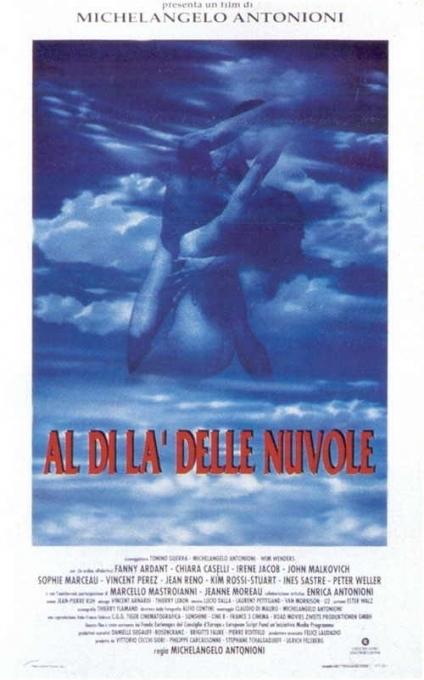 La locandina di Al di là delle nuvole