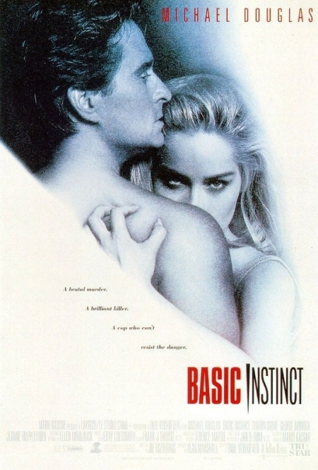 La locandina di Basic Instinct