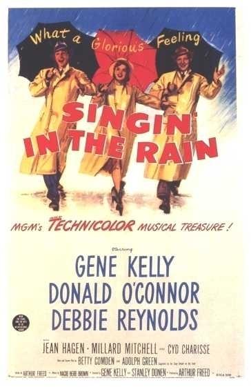 La locandina di Cantando sotto la pioggia