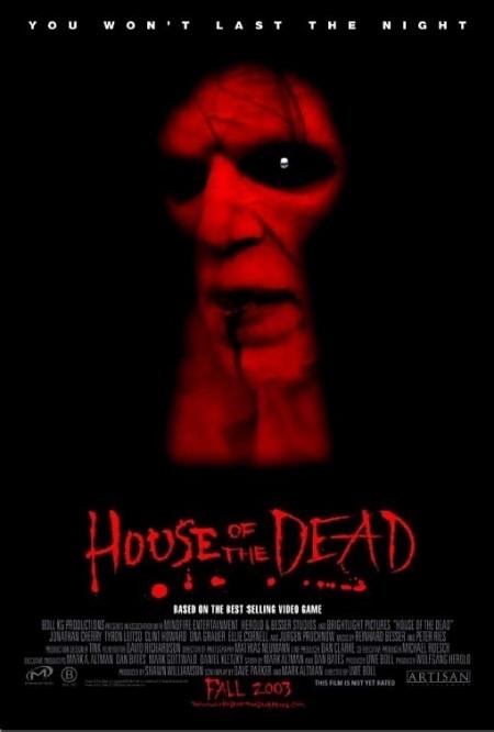 La locandina di House of the Dead