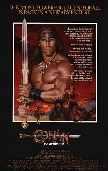 La locandina di Conan il distruttore