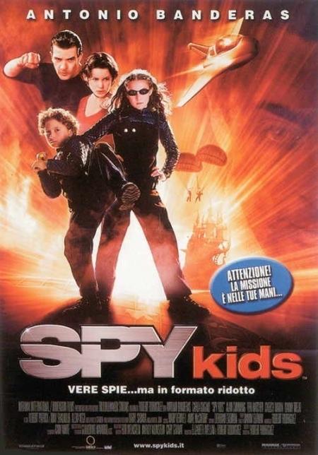 La locandina di Spy Kids