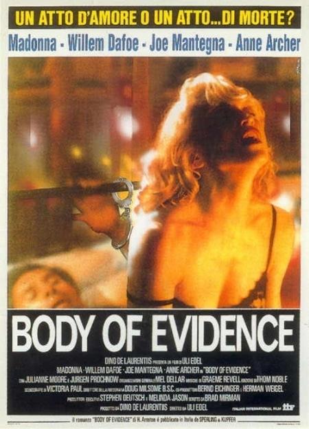 La locandina di Body of evidence