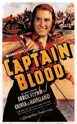 La locandina di Capitan Blood