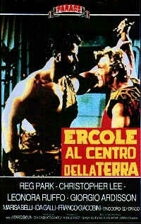 La locandina di Ercole al centro della terra