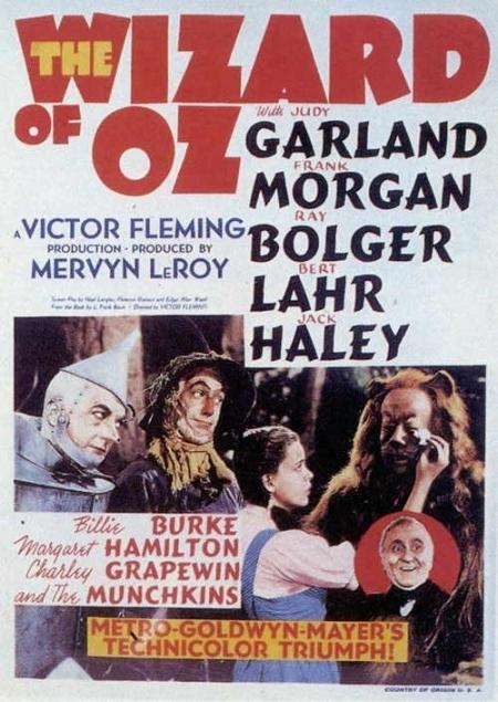 La locandina di Il mago di Oz