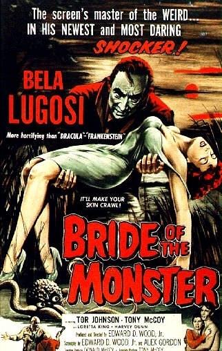La locandina di Bride of the Monster