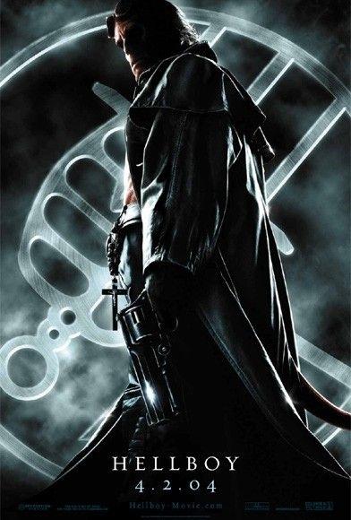 La locandina di Hellboy