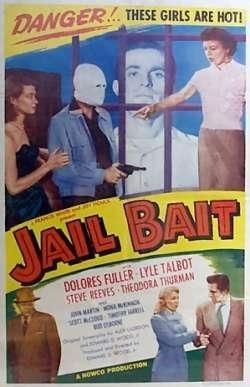 La locandina di Jail Bait