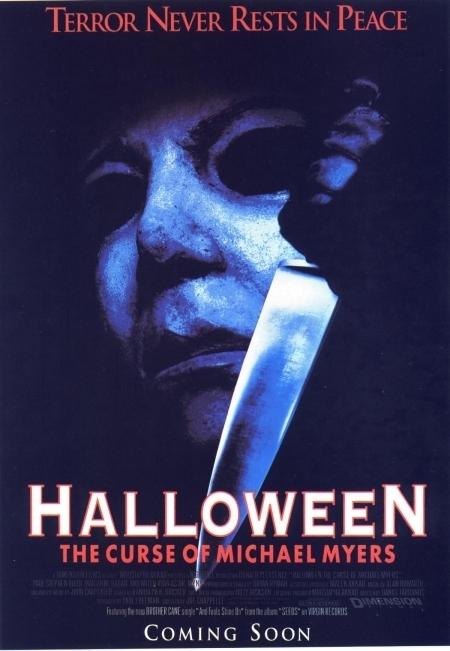 La locandina di Halloween 6: La maledizione di Michael Myers